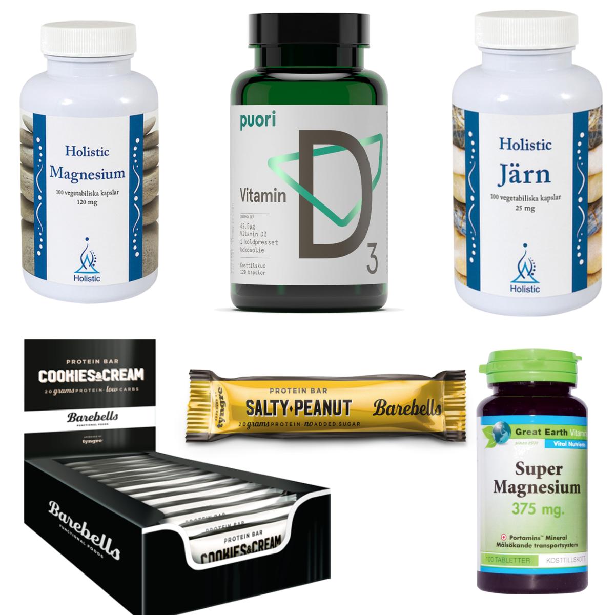 Super magnesium 375 mg 100 tabletter