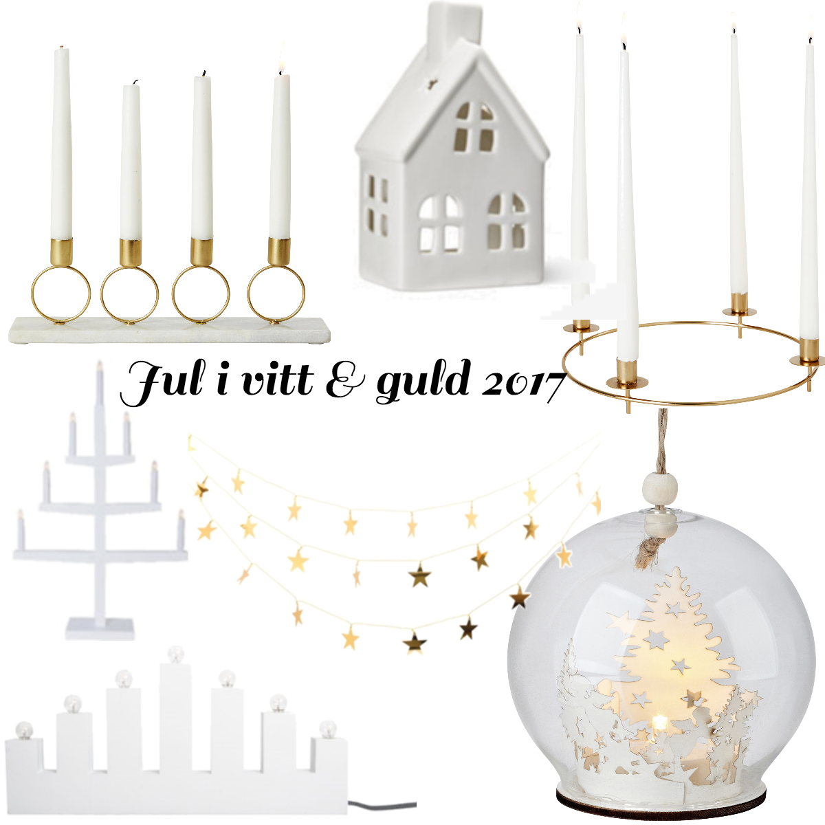 Jul i vitt & guld 2017