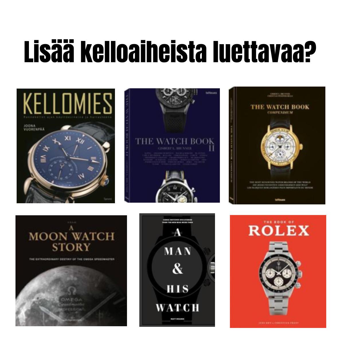 Blingblingiä ja arkisuutta – tällaisia kelloja suomalaistähdet käyttävät